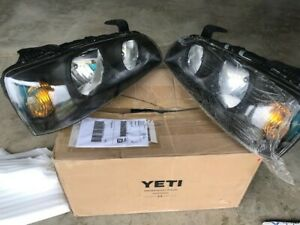 Headlight Set For 2004 2005 2006 Hyundai Elantra Left And Right