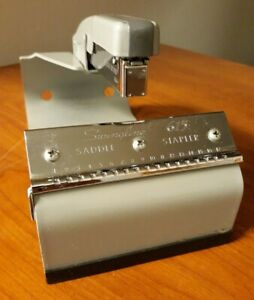 Swingline 615 Saddle Stapler Heavy Duty Professional Stapler Complete Rare