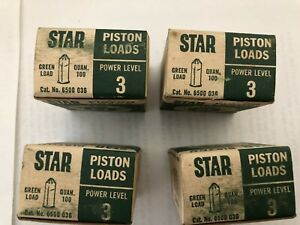 4 Boxes Ramset Star Branded 22 Caliber Piston Loads