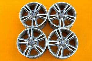 Ford Mustang 2010 2014 Charcoal Machined 17 Oem Set Of 4 Wheels Rims 3808 249