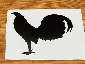 Gamefowl Decal Truck Car Jeep Wi Dow Decal Chicken Rooster Collectible Sticker