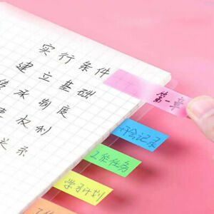 Colored Memo Pad Lovely Sticky Paper Note School Office Supplies F1