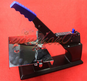 New A3 Dual use Manual Flat And Saddle Stitching Stapler Binding Machine Sh 03