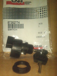 Case Ignition Switch 87352774 Oem For 400 Series Skid Steers