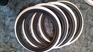 Set 4 Porta Wall Topper 13 Tire Add On White Walls 274 2 13 1 Black 1 White
