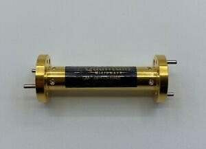 Waveguide Band Pass Filter 56 75 62 0 Ghz Wr 15 Housing Gold Plated