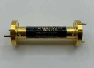 Waveguide Band Pass Filter 58 0 62 5 Ghz Wr 15 Housing Gold Plated
