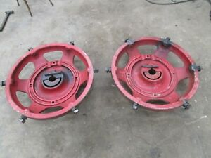 Ih Farmall 400 450 560 Power Adjust Wheels Clamps We Ship 366101r2 Tractor