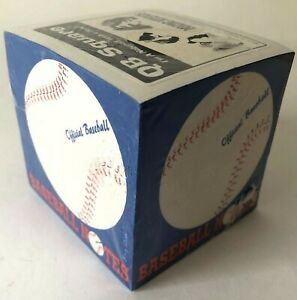 Qb Square Notepad Paper Cube Baseball Notes Made In Usa Sealed Vintage 1990 s