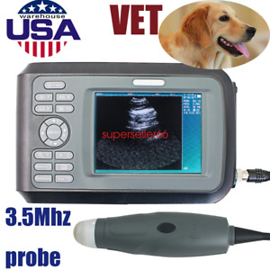 V7 Vet Ultrasound Scanner Machine Handheld For Pregnancy Animal Dog pig cat cow