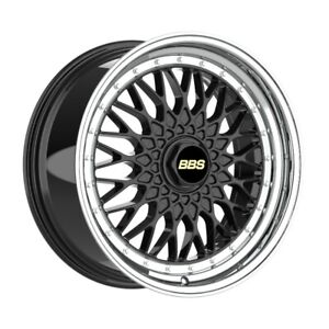 4 Wheels 18 Inch Black With Polish Lip Rims Fits Ford Thunderbird 2002 2005