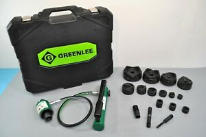 Greenlee 7310sb 11 ton Hydraulic Knockout Punch Driver Set Slugbuster 1 2 4