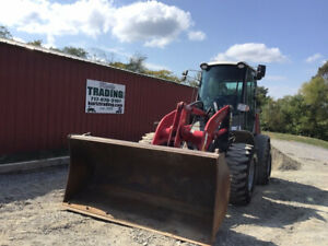 2017 Takeuchi Tw80 2 4x4 Compact Wheel Loaders Cab Super Clean Only 6100hrs