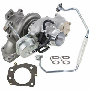 Turbo Turbocharger W Gaskets Oil Line For Buick Verano Chevy Hhr Kit