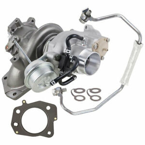 New Turbo Kit With Turbocharger Gaskets Oil Line For Chevy Pontiac Saturn