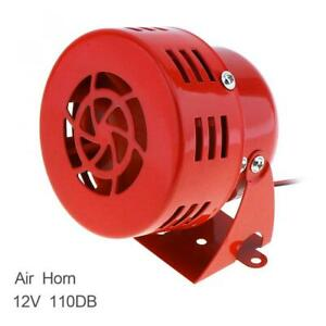 Kx 5021 12v Car Truck Motorcycle Driven Red Air Raid Siren Horn Alarm