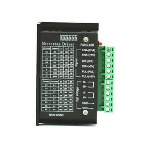 Tb6600 Single Axis 4a Stepper Motor Driver Controller 9 42v Micro step Cnc usa