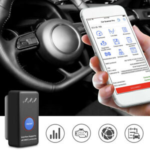 Bluetooth Obd2 Car Scanner Code Reader For Android Iphone Diagnostic Tool