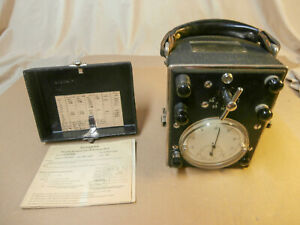 1945 Westinghouse Portable Watthour Meter Type Cp As is