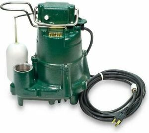 Zoeller Model 98 Submersible Sump Pump 0 5 Hp With Float Switch 98 0001