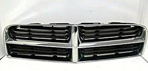 2006 2010 Dodge Charger Front Upper Grille Assembly Chrome Oem 04806180ad