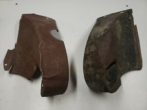 Original 1932 Ford Rear Frame Horn Covers