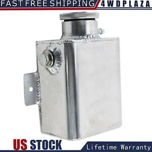 Aluminum Coolant Overflow Bottle Tank Fabricated W Billet Cap Universal