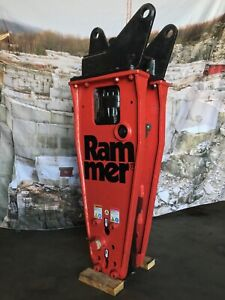 Rammer S 25 Hydraulic Breaking Hammer 750 Ft Lb Energy