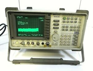 Hp 8563e Spectrum Analyzer Opt J3 9 Khz 26 5 Ghz Free Shipping