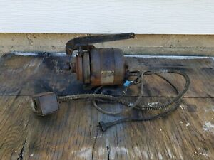 Antique Industrial Singer Sewing Machine Motor Switch Model 31 15 Parts Lot