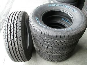 4 New 235 75r15 Milestar Patagonia H T Tires 75 15 R15 2357515 75r White Letters
