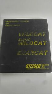 Steiger Tractor Panther Lion Owner Operator Operation Maintenance Parts Catalog