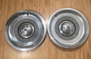 2 Buick Electra 225 1969 1970 Hubcaps 15 Inch