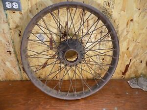 Vintage 24 Wire Wheel Speedster Model T Ford Whippet Pierce 1913 1918 Pasco A B