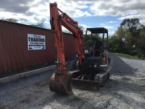 2007 Kubota Kx91 3 Hydraulic Mini Excavator Only 900 Hours