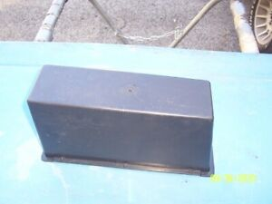 1971 73 Ford Mustang Original Full Length Floor Console Storage Box