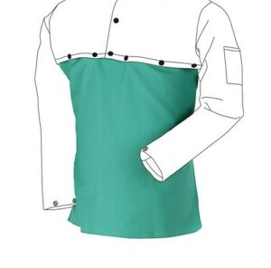 Flame Resistant Cotton Welding Bib Weldmark By Revco 20 Green