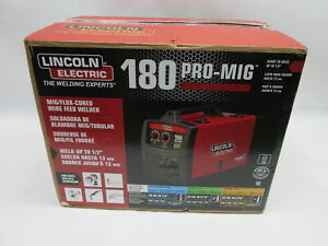 Lincoln Electric Pro mig 180 Welder 230 volt Mig Flux cored Wire Feed K2481 1