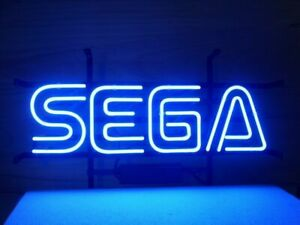 New Sega Video Game Neon Light Sign 14 x10 Beer Cave Fast Us Ship