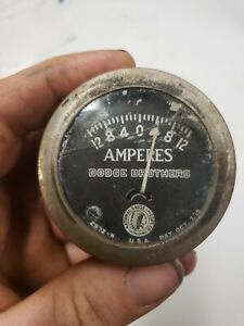 National Gauge Equipment 2 Amp Gauge Dodge Brothers Amperes Ammeter Amps 2972 n