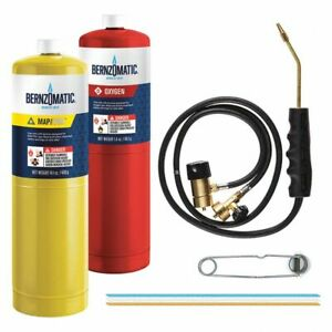 Mag torch Brazing Cutting Welding Torch Kit Oxygen Map Pro set
