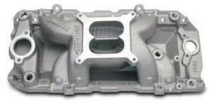 Edelbrock 7561 Big Block Chevy Rpm Air Gap Oval Port Intake Manifold