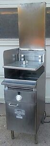 Keating Bb 14 Instant Recovery Natural Gas Deep Fryer 109 000 Btu Free Shipping