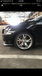 Nissan 370z Rays Forged 19x9 Wheel Rims With Tires