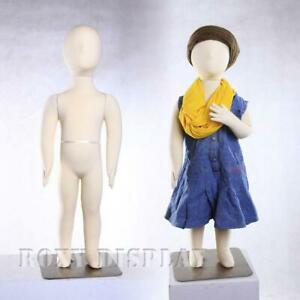 Kid Child Flexible Bendable Full Body Form S Mannequin Dress Form jf ch01t