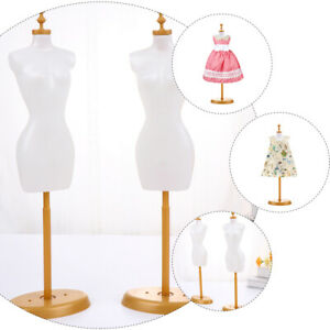 6 Pcs Cloth Stand Doll Mannequin Support Doll Model Stand For Decor Doll Gifts