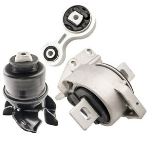 3x Engine Motor Mount Transmissiom Mount For Ford Fusion 2 3l 2006 2007 2009