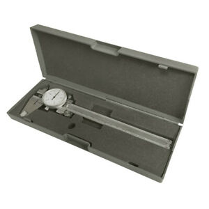 Stainless Steel Metric Dial Caliper Precision Hardened 150mm 0 05mm