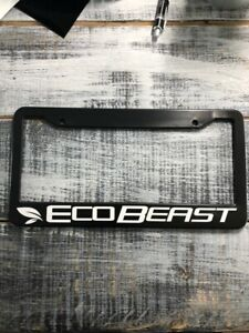 Ecobeast Fits Ford F150 Mustang License Plate Frame Free Shipping Us Seller