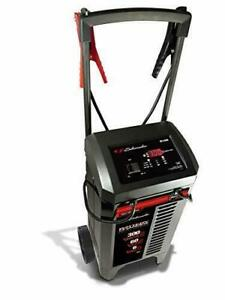 Schumacher Heavy Duty 6 12v Wheeled Automatic Battery Charger And 200 300a 6 60a